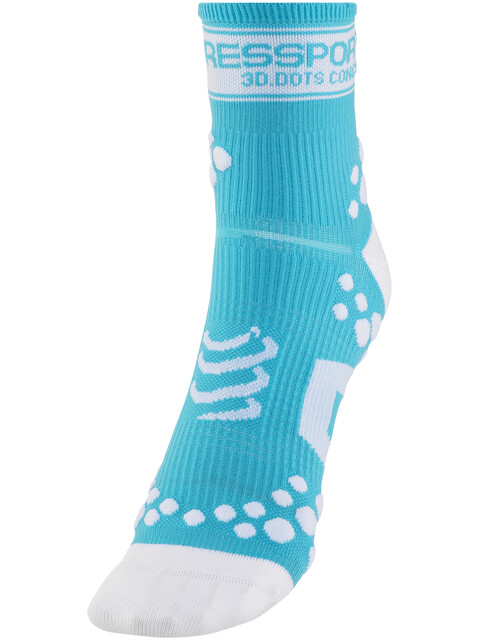 Compressport Racing V2 Socks Fluo Blue